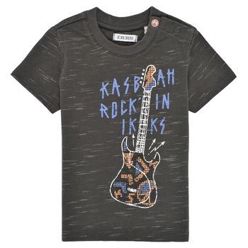 vaatteet Pojat Lyhythihainen t-paita Ikks XS10091-27 Harmaa