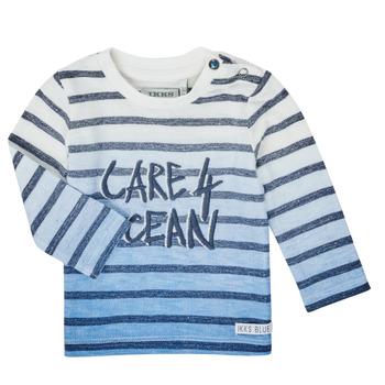 vaatteet Pojat T-paidat pitkillä hihoilla Ikks XS10001-19 Monivärinen