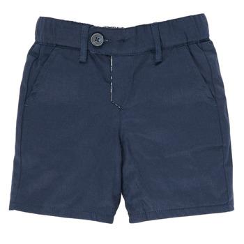 vaatteet Pojat Shortsit / Bermuda-shortsit Ikks XS25021-45 Laivastonsininen