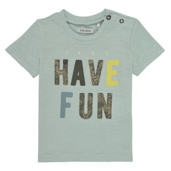 vaatteet Pojat Lyhythihainen t-paita Ikks XS10131-50 Sininen