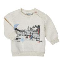 vaatteet Pojat Svetari Ikks XS15011-60 Valkoinen