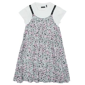 vaatteet Tytöt Lyhyt mekko Ikks XS30182-19-J Monivärinen