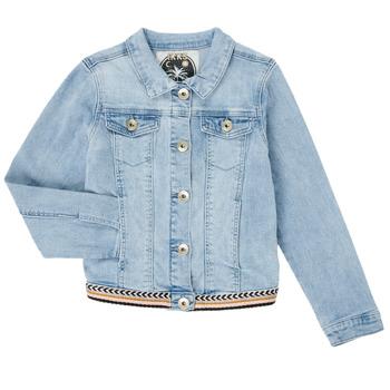 vaatteet Tytöt Farkkutakki Ikks XS40152-84-C Sininen