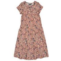 vaatteet Tytöt Pitkä mekko Ikks XS30042-32-J Monivärinen