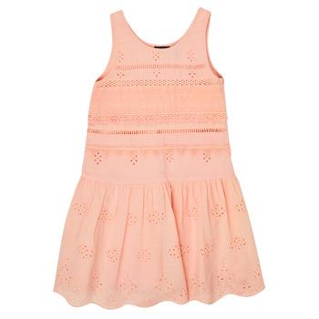 vaatteet Tytöt Lyhyt mekko Ikks XS31012-32-J Vaaleanpunainen