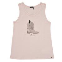 vaatteet Tytöt Hihattomat paidat / Hihattomat t-paidat Ikks XS10302-31-C Vaaleanpunainen