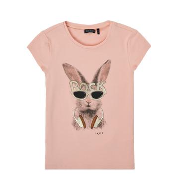 vaatteet Tytöt Lyhythihainen t-paita Ikks XS10342-32-J Pink