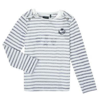vaatteet Tytöt T-paidat pitkillä hihoilla Ikks XS10052-19-J Monivärinen