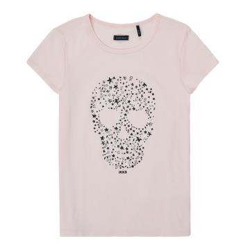 vaatteet Tytöt Lyhythihainen t-paita Ikks XS10492-31-J Vaaleanpunainen