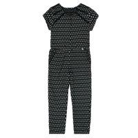 vaatteet Tytöt Jumpsuits / Haalarit Ikks XS32012-02-C Musta