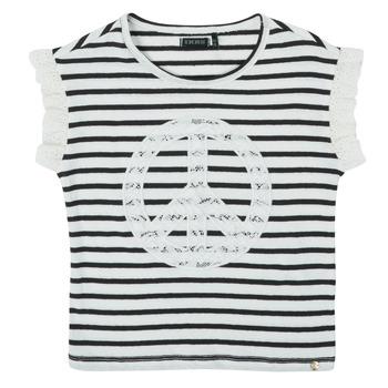 vaatteet Tytöt Lyhythihainen t-paita Ikks XS10022-19-C Monivärinen