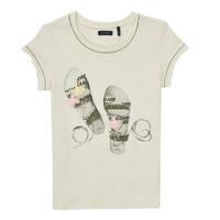 vaatteet Tytöt Lyhythihainen t-paita Ikks XS10132-11-C Valkoinen