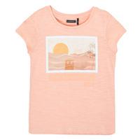 vaatteet Tytöt Lyhythihainen t-paita Ikks XS10332-32-C Vaaleanpunainen