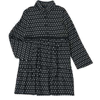 vaatteet Tytöt Lyhyt mekko Ikks XS30002-02-C Musta