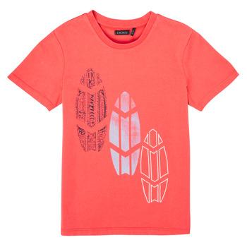 vaatteet Pojat Lyhythihainen t-paita Ikks XS10043-79-C Punainen