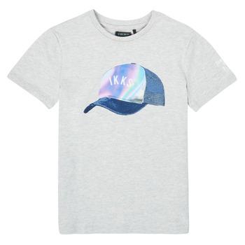 vaatteet Pojat Lyhythihainen t-paita Ikks XS10073-24-C Harmaa