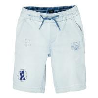 vaatteet Pojat Shortsit / Bermuda-shortsit Ikks XS25223-82-C Sininen