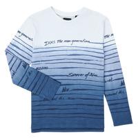 vaatteet Pojat T-paidat pitkillä hihoilla Ikks XS10003-19-C Monivärinen