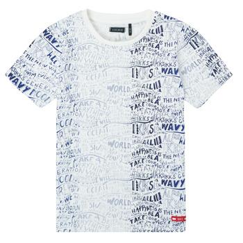 vaatteet Pojat Lyhythihainen t-paita Ikks XS10063-19-C Monivärinen