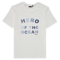 vaatteet Pojat Lyhythihainen t-paita Ikks XS10343-19-C Valkoinen