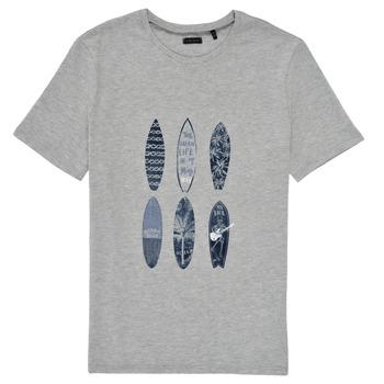 vaatteet Pojat Lyhythihainen t-paita Ikks XS10363-24-C Harmaa