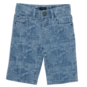 vaatteet Pojat Shortsit / Bermuda-shortsit Ikks XS25253-82-C Sininen