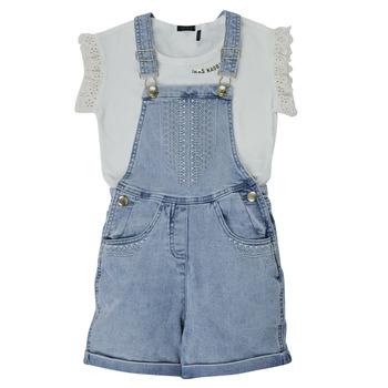 vaatteet Tytöt Kokonaisuus Ikks XS37022-84-J Monivärinen