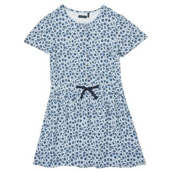 vaatteet Tytöt Lyhyt mekko Ikks XS30102-48-J Sininen