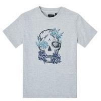 vaatteet Pojat Lyhythihainen t-paita Ikks XS10243-21-J Harmaa
