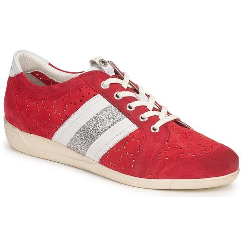 kengät Naiset Matalavartiset tennarit Janet Sport MARGOT ODETTE Red