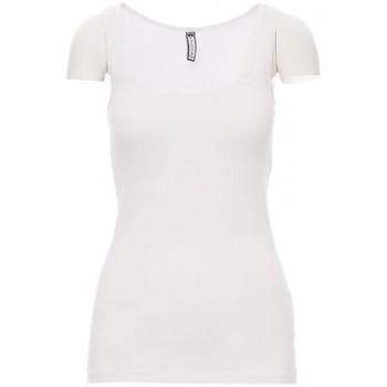 vaatteet Miehet Lyhythihainen t-paita Payper Wear T-shirt Payper Look blanc