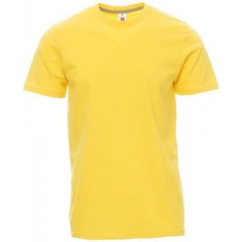 vaatteet Miehet Lyhythihainen t-paita Payper Wear T-shirt Payper Sunset jaune