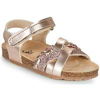 kengät Tytöt Sandaalit ja avokkaat Mod'8 KOENIA Vaaleanpunainen / Kulta