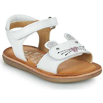 kengät Tytöt Sandaalit ja avokkaat Mod'8 CLOONIE Valkoinen