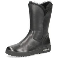 kengät Naiset Nilkkurit Caprice Booties Flats Black Musta
