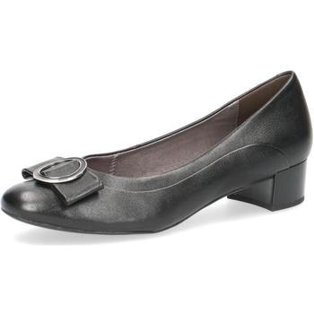 kengät Naiset Balleriinat Caprice Elegant Low Heels Black Musta
