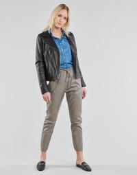 vaatteet Naiset 5-taskuiset housut Oakwood GIFT Harmaa