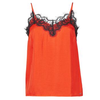 vaatteet Naiset Hihattomat paidat / Hihattomat t-paidat Les Petites Bombes AMY Oranssi