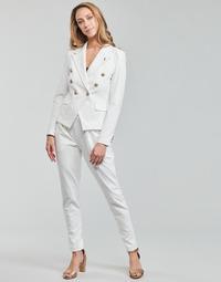 vaatteet Naiset Väljät housut / Haaremihousut Les Petites Bombes ALEXANDRA Valkoinen