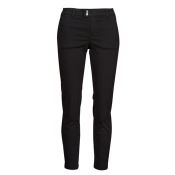 vaatteet Naiset Chino-housut / Porkkanahousut Les Petites Bombes NAOMIE Musta