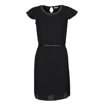 vaatteet Naiset Lyhyt mekko Liu Jo WA1561-T9767-22222 Musta
