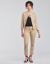 vaatteet Naiset 5-taskuiset housut Liu Jo IDEAL Beige