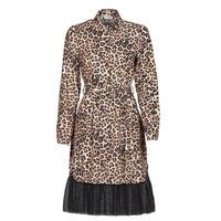 vaatteet Naiset Lyhyt mekko Liu Jo WA1218-T9147-T9680 Leopardi