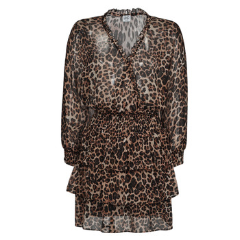 vaatteet Naiset Lyhyt mekko Liu Jo WA1530-T5059-T9680 Leopardi