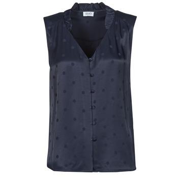 vaatteet Naiset Topit / Puserot Liu Jo WA1044-T4758-93923 Laivastonsininen