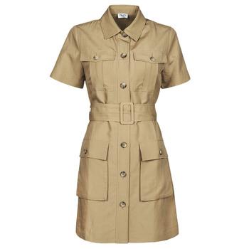 vaatteet Naiset Lyhyt mekko Liu Jo WA1301-T4818-X0365 Beige