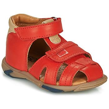 kengät Pojat Sandaalit ja avokkaat GBB NUVIO Punainen