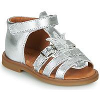 kengät Tytöt Sandaalit ja avokkaat GBB CARETTE Hopea