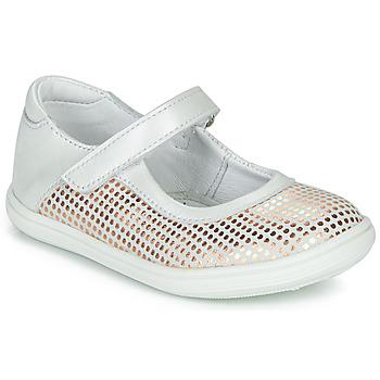 kengät Tytöt Balleriinat GBB PLACIDA White
