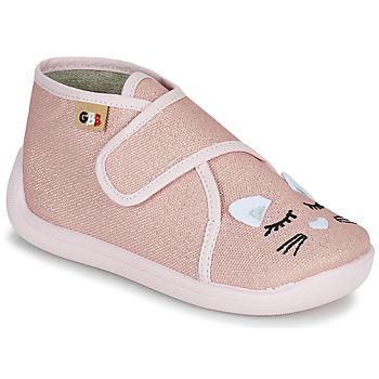 kengät Tytöt Tossut GBB APODIE Vaaleanpunainen